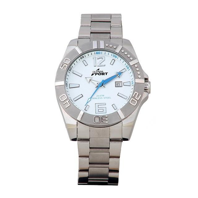 Sportovní pánské módní nerezové kovové hodinky Olympia 70097 a948cc6431