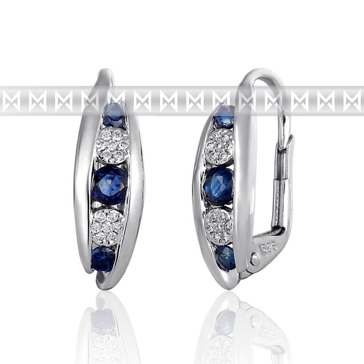 Diamantové náušnice 02ff9b70239