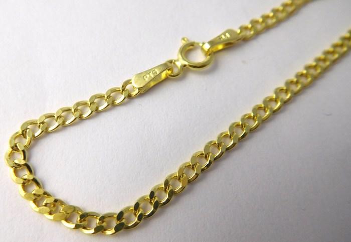 c116a9df7 Dámský silný pevný mohutný zlatý náramek 19cm 585/1,15gr 3640175 POŠTOVNÉ  ZDARMA!!