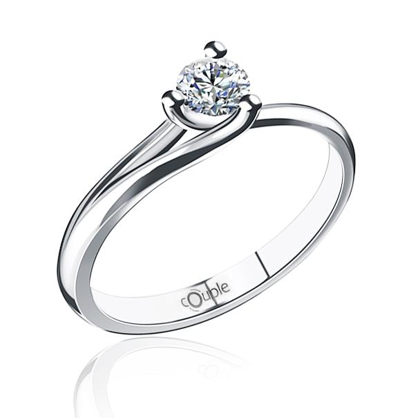 Zásnubní diamantový luxusní prsten ASINARA 6869075 585 1 4296e33bc72
