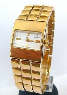 Dámské luxusní společenské švýcarské hodinky Grovana 4430.1 se safírovým  sklem a1d5adb604