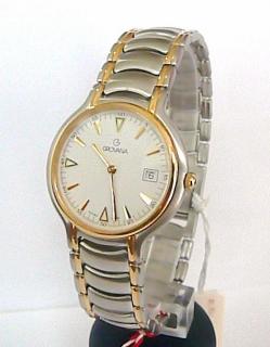 Luxusní ocelové švýcarské značkové hodinky Grovana 1513.1 - bicolor 16ee1aac50