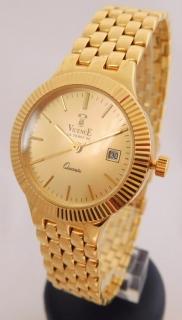 Švýcarské celozlaté dámské zlaté hodinky VICENCE LE TEMS DE 585 40 f2154b3e046