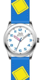 Modré dětské náramkové hodinky JVD basic W61.3 eaf35b90644