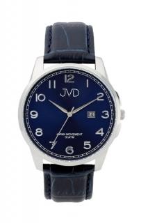 affc1d64add Pánské luxusní vodotěsné náramkové hodinky JVD J1112.2 na koženém pásku